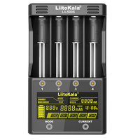 LiitoKala lii 500S 18650 Battery Charger US/EU Plug LCD Screen Display Lithium/NiMH 26650 AA AAA Touch Control Four Currents|Chargers| |  -
