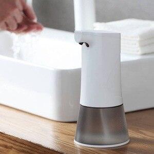Image 3 - 0,25 s высокочувствительный сенсорный USB Перезаряжаемый автоматический дозатор пенного мыла IPX4 Водонепроницаемый 350 мл Ручная стирка для кухни ванной комнаты