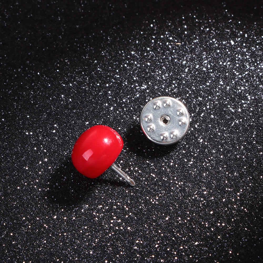 1 PC Charme Imitazione Pera A Forma di Spilla Spilli Elegante Piccola Rotonda Spille per Le Donne Ragazze Sciarpa Spilli Accessori Dei Monili del Regalo