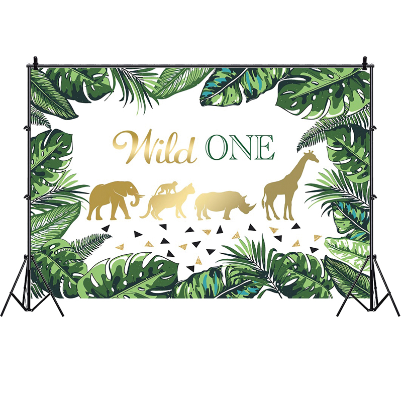 Фон дикий один джунгли сафари анаймаль на заказ детский день