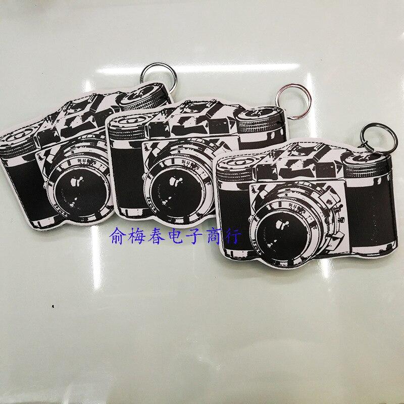 Creative Gifts Retro Camera Modeling Bag Key PU Purse Keychain Wallet Coin Pocket