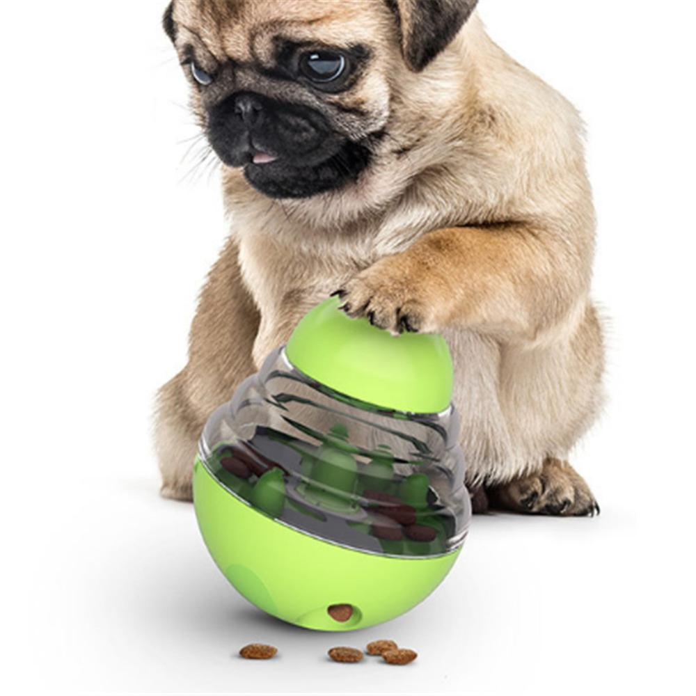 2020 New Pet Dogs Cats Fun Bowl Toy Feeder Dog Feeding Pets Dog Tumbler Leakage Food Ball For Puppy Pet Training Exercise|Dog Toys|   - AliExpress