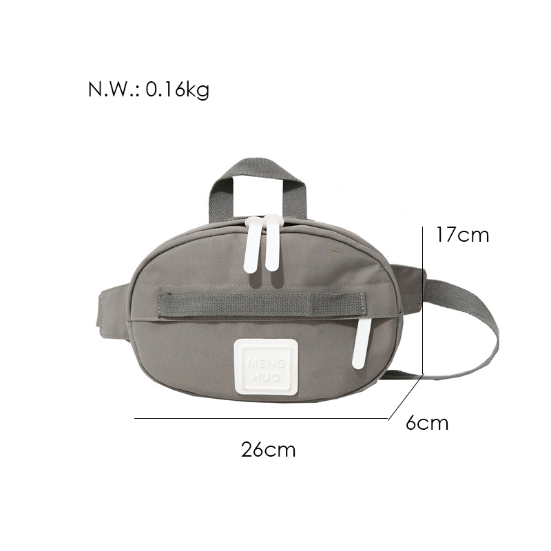 Menghuuo Waist Bag Women Fanny Packs Belt Bag Luxury Brand Nylon Chest Handbag 5 Colors 2018 New Fashion Hight Quality Waist Bag8E0A4173