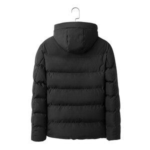 Image 2 - AIRGRACIAS חדש לגמרי חורף מעיל גברים לעבות חם מעיילים מקרית להאריך ימים יותר סלעית parka מעילי מעילי גברים בגדים