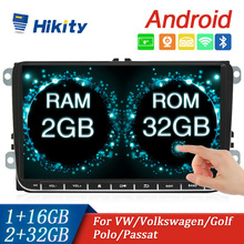 Multimedia Player Car-Radios Android 2-Din 9inch Hikity Polo/tiguan GPS