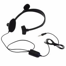 цена на Black Over-ear Wired Earphone Headphones with Microphone Gaming Headset for PC Video Game Gamer For Playstation for PS4 With VOL