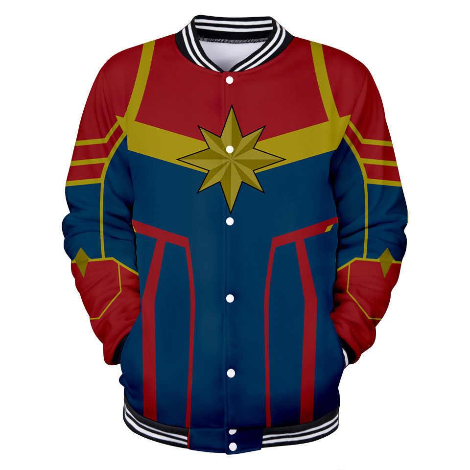 Captain Marvel Carol Danvers Celebrity Style Cool Trend Of Fashion Trend Baseball Uniform
