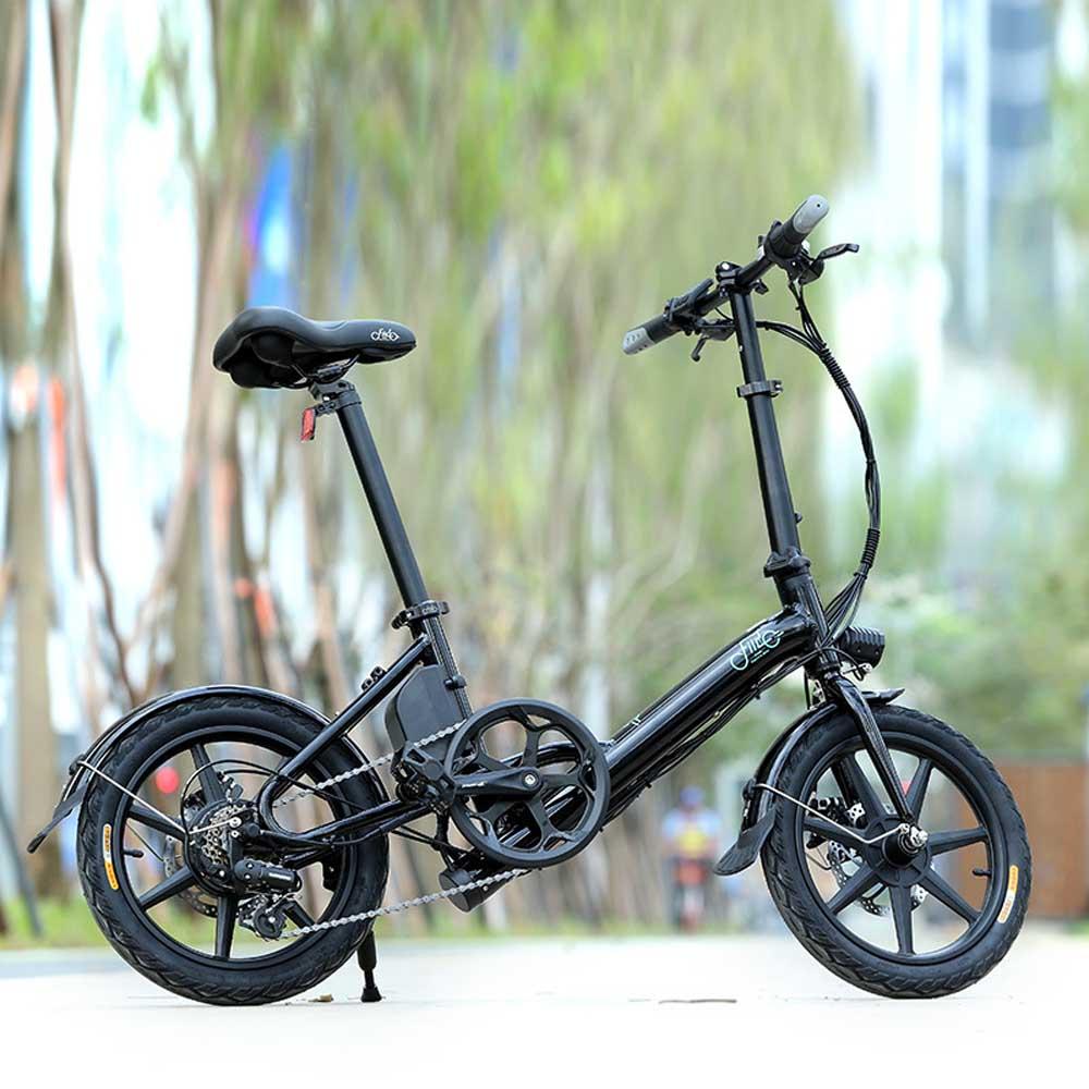Классический e велосипед складной электровелосипед складная рама, и руль дисплей 7.8ah D3 - 3