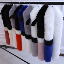 Fur scarfs for women winter 2019 NEW Fluffy Shawls and wraps Faux Fox Fur collar Scarf long pashmina foulard femme best gifts chic downy faux fur winter pashmina for women