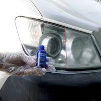 10/30ML High Density Headlight Polish Liquid Car Restoration Fluid Durable Car Repair set with towel sponge car washing kitTSLM1 2
