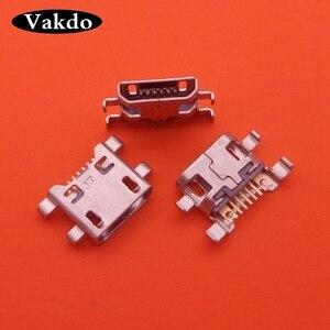 100 sztuk/partia dla LG K8 VS500 AS375 Leon H340 H345 G4c H525N Micro MINI Usb złącze do ładowania portu gniazdo ładowania Jack dok...