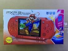 Nova consola de jogos pxp3 handheld portátil 16 bits retro crianças md2700 jogo de vídeo palyer embutido 150 jogos