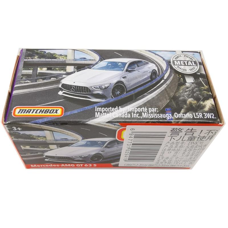 2020 Matchbox Cars 1:64 Car Mercedes-AMG GT 63 S Metal Diecast Alloy Model Car Toy Vehicles