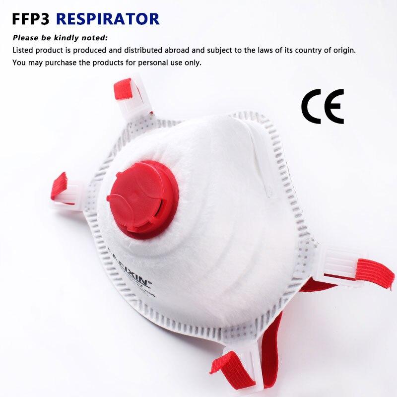 Пылезащитная маска FFP3 FFP2 маски для лица PM2.5 защитная маска для лица FFP3 Респиратор Защитная безопасность N95 маски FFP2 анти-загрязнение