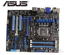 Asus P8Z77-V LE PLUS Desktop Motherboard LGA 1155 DDR3 32GB USB3.0 for I3 I5 I7 CPU Z77 motherboard стоимость