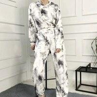 Женские трикотажные штаны #2