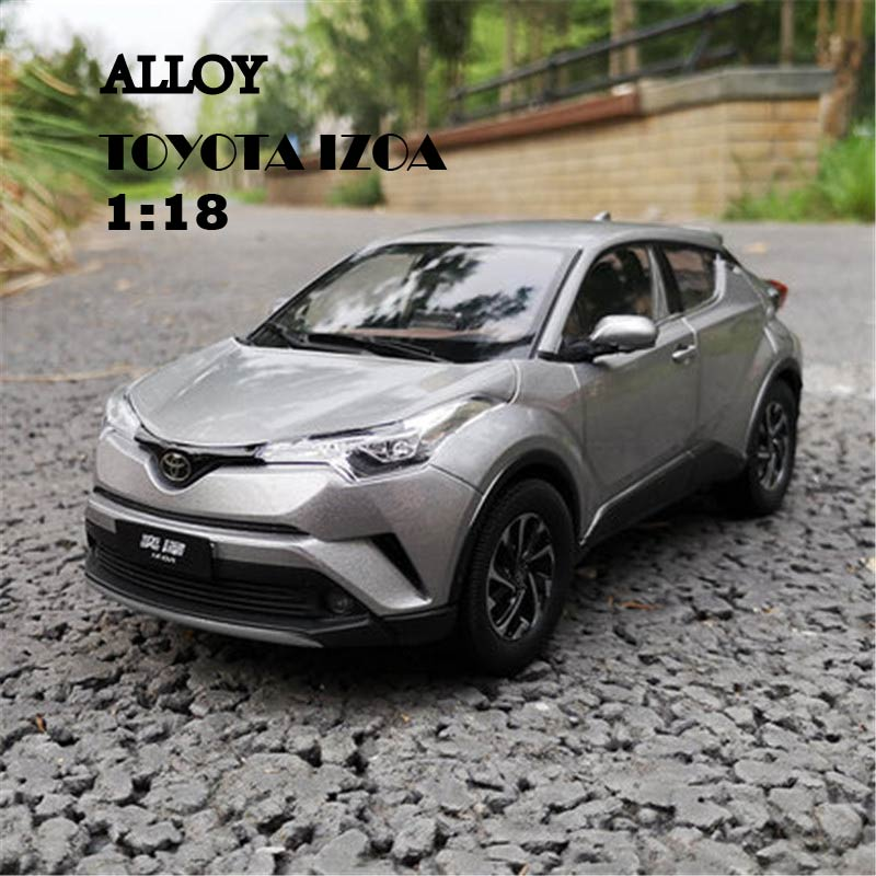 1:18 Alloy Diecast Car Model for Toyota IZOA Miniature Collection Diecast Model Metal Car Suit Toys for Children Birthday Gift