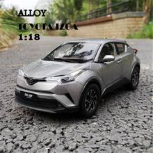 1:18 Alloy Diecast Car Model for Toyota IZOA Miniature Collection Diecast Model Metal Car Suit Toys for Children Birthday Gift(China)