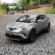 Car-Model Miniature-Collection Toyota Toys Birthday-Gift Metal Children 1:18-Alloy