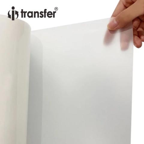 60CMx100M PET Film Roll Size Direct Transfer Printing Film For Garment Heat Transfer Paper DTF Roll Films 2