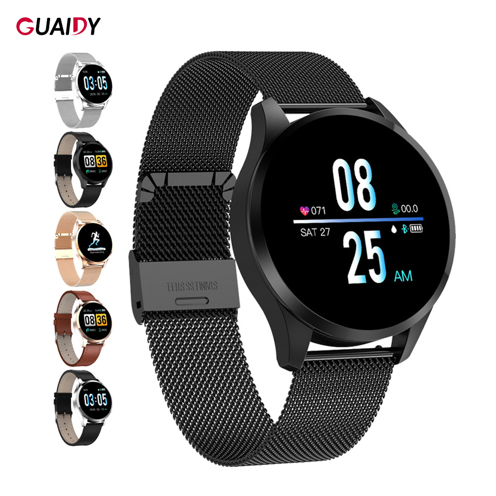 Smart Watch Full Screen Heart Rate Health Monitoring Sport Women Men Bluetooth GPS Band Bracelet For Samsung iPhone IOS Android