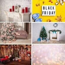 Vinyl Custom Photography Backdrops Prop Christmas Theme Photography Background  191106AF-06 цена 2017