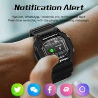 Reloj Inteligente deportivo X12 para hombres y mujeres IP68 Monitor de salud impermeable rastreador Reloj Inteligente para Ios Android Reloj Inteligente