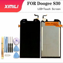 5.0 pouce pour Doogee S30 LCD affichage et écran tactile numériseur assemblée remplacement pour Doogee S30 + outils + adhésif