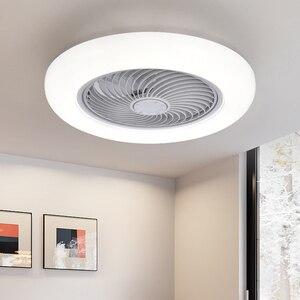 Modern ceiling fan with lights remote control ceiling Fans lam for dining room bedroom 110v/220v Multifunction LED lighting