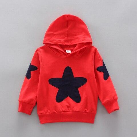 estrela de algodao esportes com capuz camisola