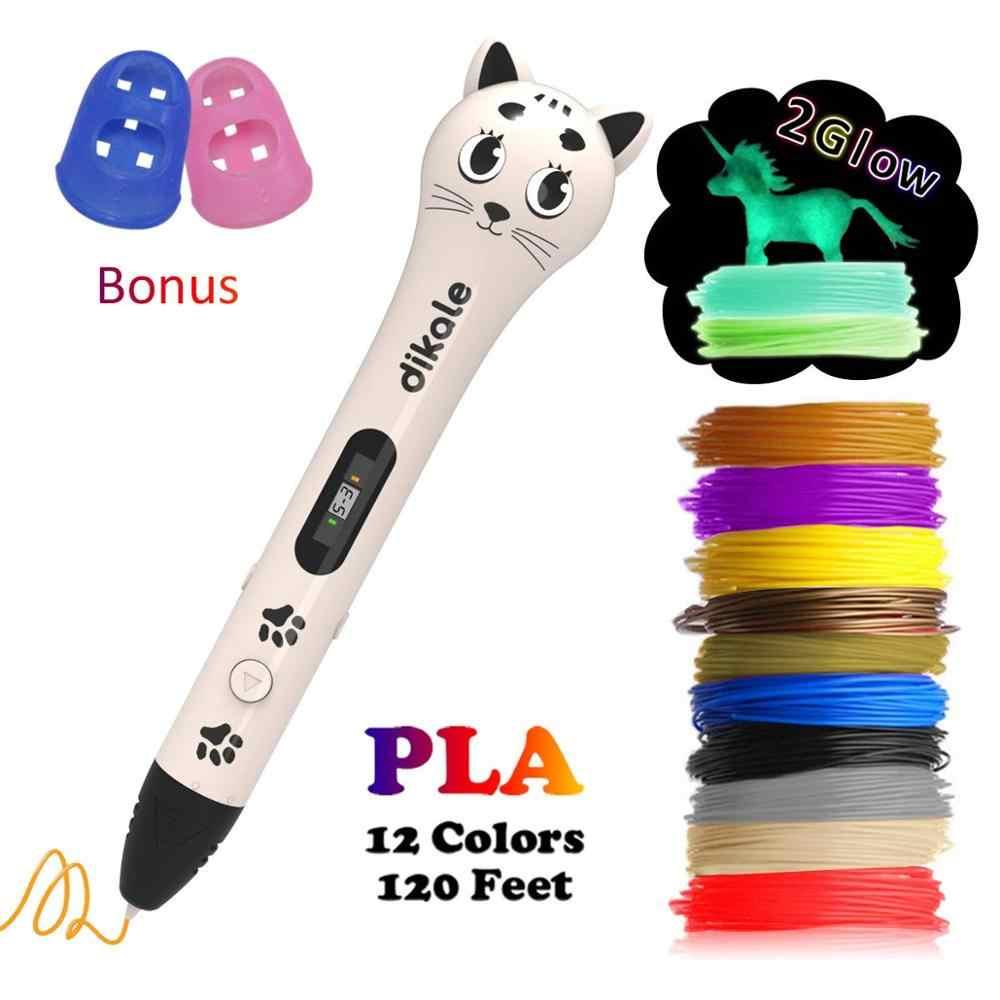 Dikale 3D pluma de impresión lindo diseño de perro diseño de gato 7ª generación 6ª generación US Stock Dropshipping