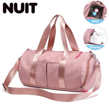 Women Dry And Wet Travelling Carry-on Bag Female Gym Bags For Men Yoga Travel Training Sport Luggage