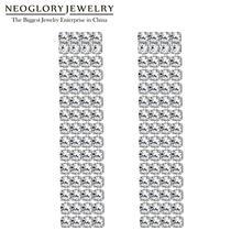 Neoglory Новая мода 1,5 мм CZ 4 ряда 3 см коготь цепь Кристалл кисточкой серьги для женщин невесты ювелирные изделия для свадьбы подарок сувенир
