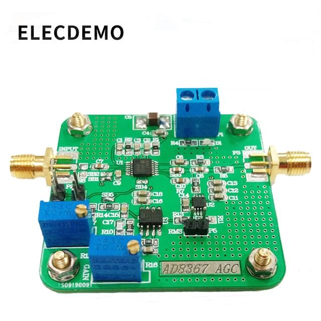 Блок усиления напряжения ad8367 _ agc, высокопроизводительный усилитель с переменным усилением, детектор широкой полосы пропускания
