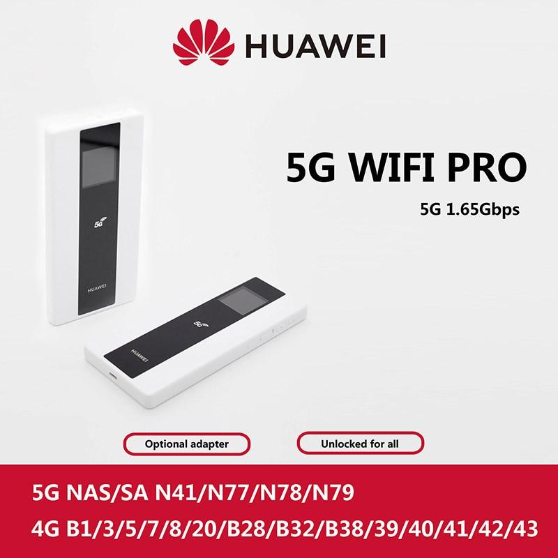 Huawei 5G Router Mobile WiFi Pro E6878-370 Huawei 5G MIFI Hotspot Wireless Access Point Mobile WiFi E6878-870 NA And NSA Modes