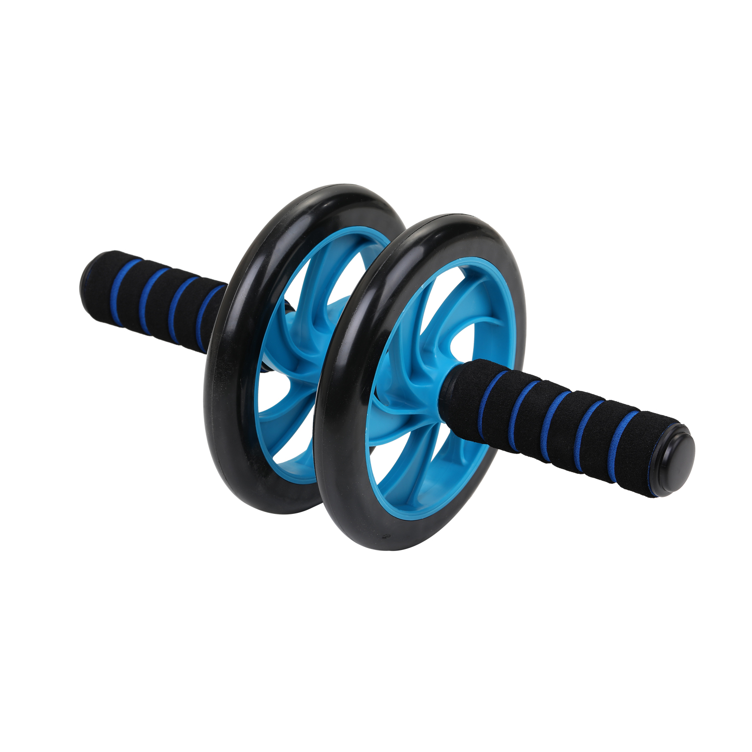Hab81f7b14b2c4c4fa69e9a0ab5731f77C - 5-in-1 AB Roller Kit Abdominal Press Wheel Pro with Push-UP Bar Jump Rope Knee Pad Gym Home Exercise  Fitness Equipment