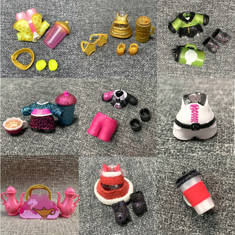 New Original LOL Doll Dresses Clothes Accessorries For Winter Disco Doll Lol Accessories On Sale LOL Dolls Limited Collection