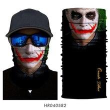 Headband Balaclava Facemask Mascarillas Magic-Bandana Neck-Buff Halloween Hiking-Scarf