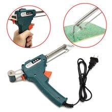 110/220V 60W Soldering Tin Gun Suction Tin Device Electric Welding Gun Tool Send Tin Soldering Iron Gun Solder Tool US/EU Plug