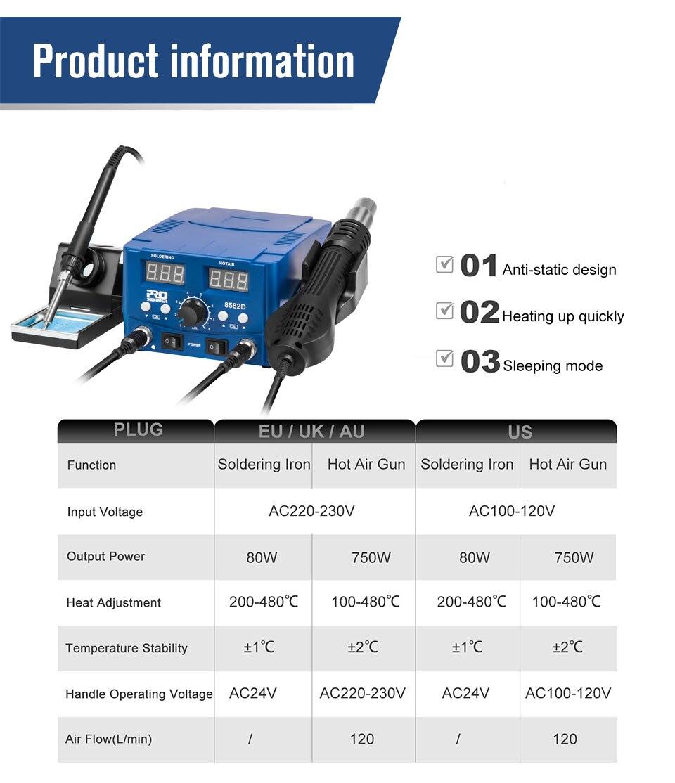 PROSTROMER Soldering Station Information