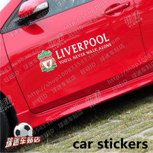 Red Army Liverpool car car stickers rearview mirror car door glass hood Liverpool football team stickers the waterboys liverpool