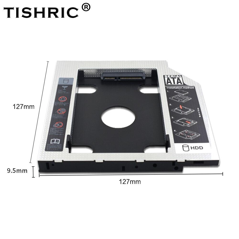 TISHRIC Plastic/Aluminum Hdd Caddy SATA 3.0 2.5