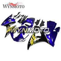 Complete ABS Plastic Injection Covers New Motorcycle Fairings For Yamaha YZF R6 Year 05 2005 Body Blue Yellow Panels Kits New