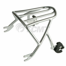 Motorcycle Solo Detachable Luggage Rack For Harley Sportster XL 1200 883 72 48 04-18