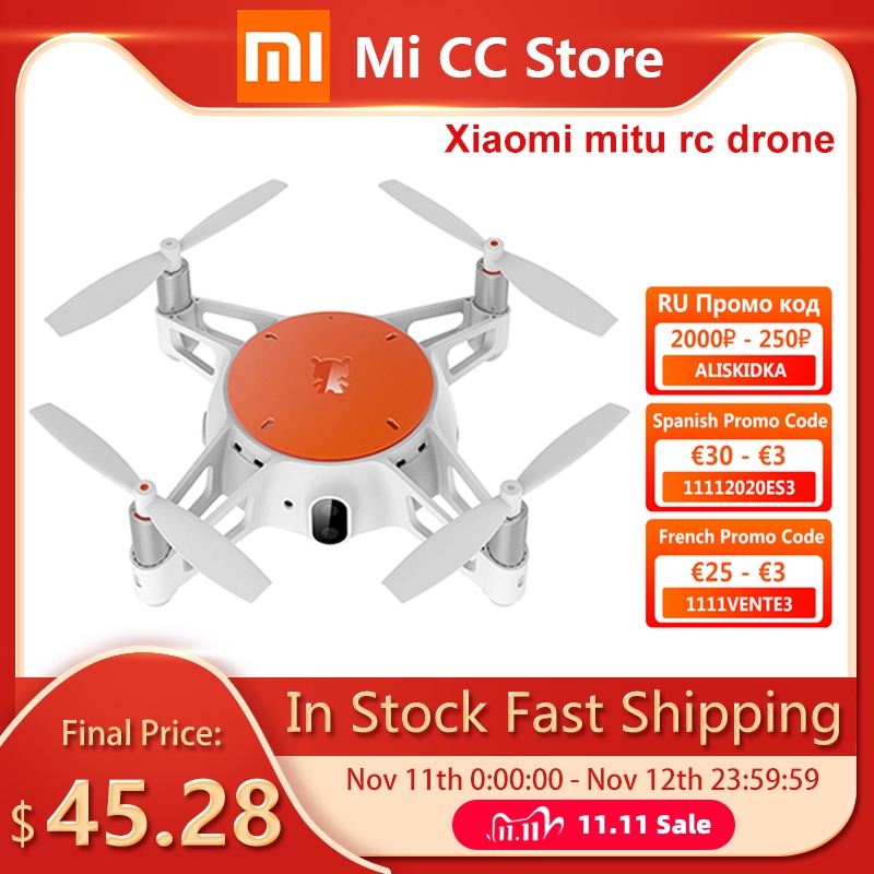 Xiaomi MITU Smart RC Drone With Camera 720P HD Remote Control helicopter Mini Tumbling Aircraft Wifi Drone FPV CameraPlane
