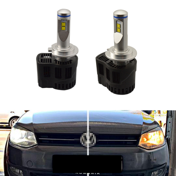 2x Canbus 6000k White 110W 10400lm H7 PX26d Led Low Beam Light LED Tip Headlight For Polo 6C (2017)