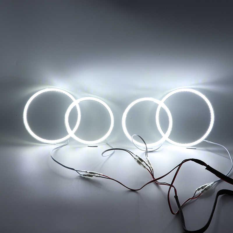 Untuk Opel Astra H Non Projector 2007-2010 Ultra Terang SMD Putih LED Angel Eyes 2600LM 12V Halo cincin Kit Day Light