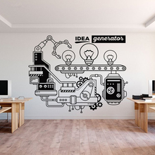 Idea Generator Office Wall Decal Family Decoration Removable Murals Vinyl New Design Art Sticker