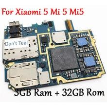 Материнская плата HAOYUAN.P.W для Xiaomi Mi 5, 3+32Гб, глобальная прошивка