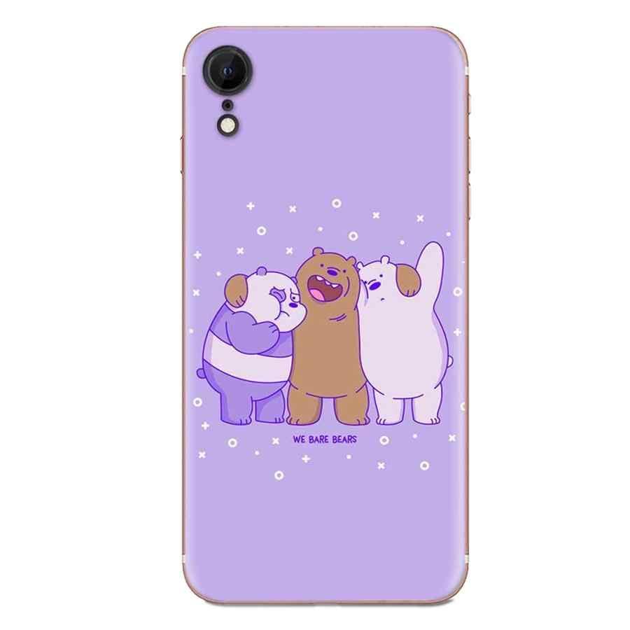 אנחנו קרח חשוף דובי לגלקסי גרנד A3 A5 A7 A8 A9 A9S On5 On7 בתוספת פרו כוכב 2015 2016 2017 2018 אישית הדפסת טלפון מקרה